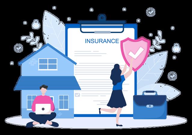 Life Insurance policy Illustration