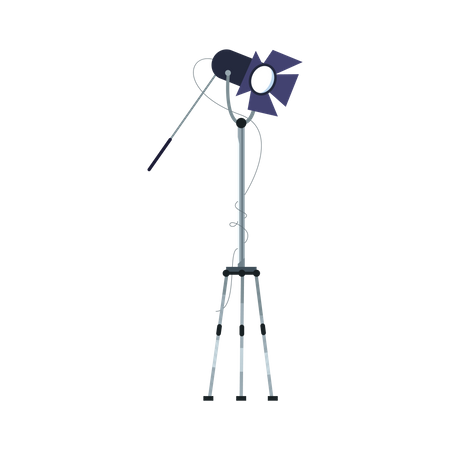 Lights stand Illustration