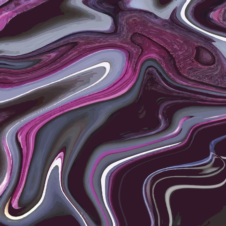 Liquid marble texture design, colorful marbling surface, vibrant abstract paint design Illustration
