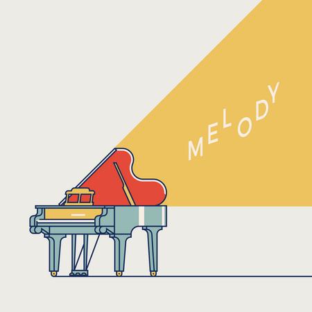 Live Melody music Illustration