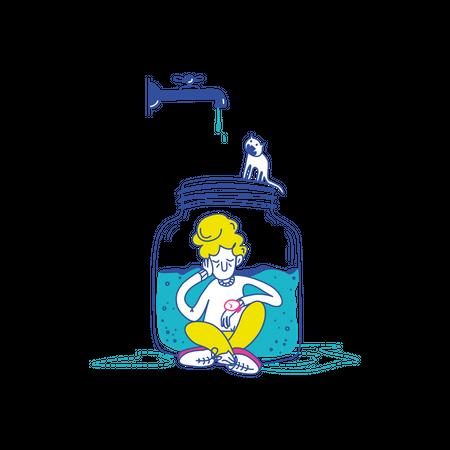 Loading Illustration