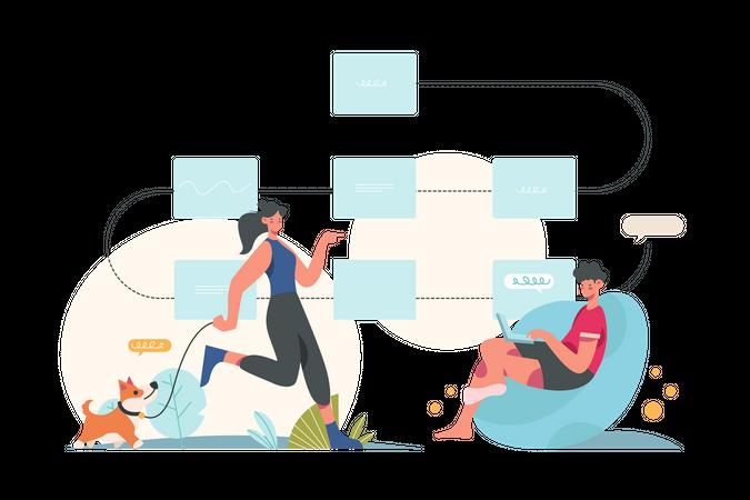 Logic and Programming Illustration