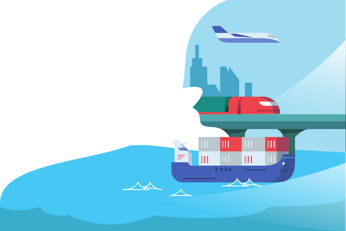 Logistic distribution Illustration