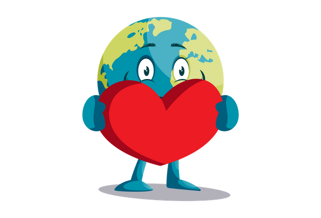 Love environment Illustration