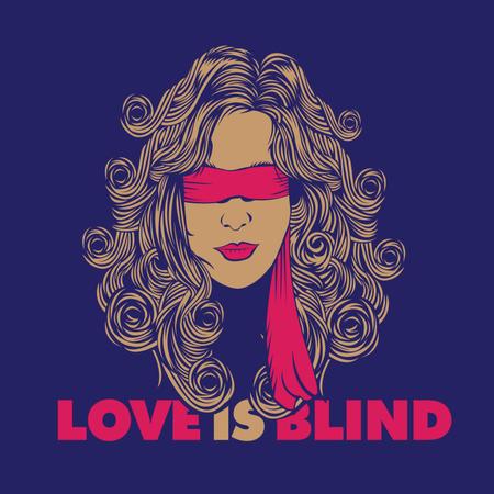 Love is Blind Illustration