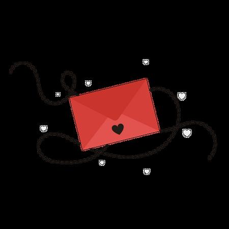 Love Letter Illustration