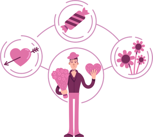Lover archetype Illustration
