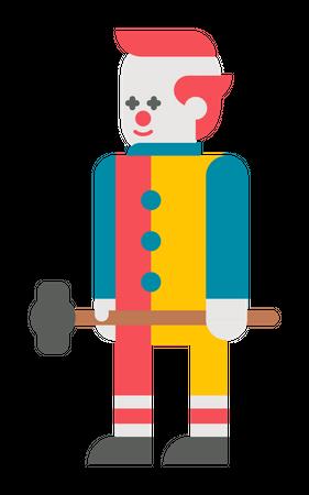 Mad Jocker Illustration
