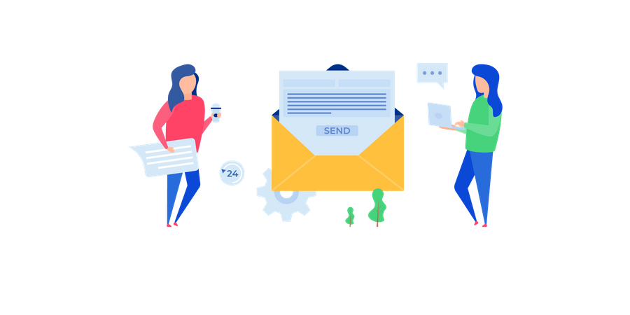 Mailing Illustration