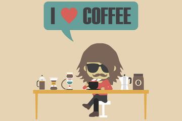 Coffee Inforgraphic Illustration Pack