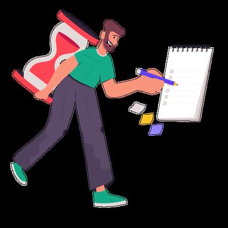 Manager Illustration
