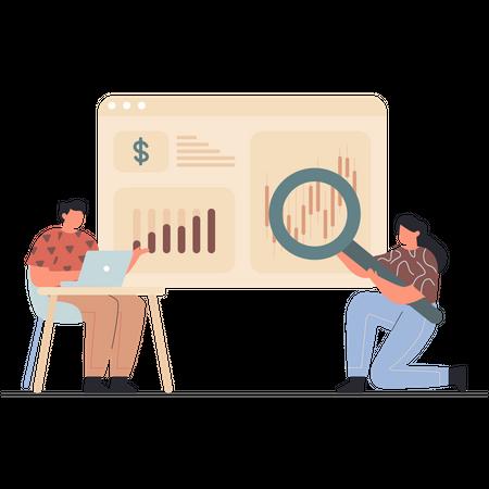 Market Analytics Illustration