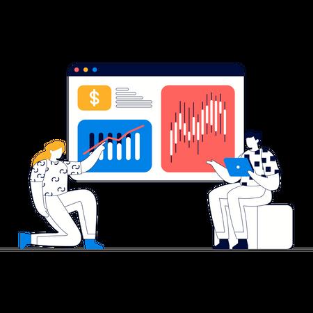 Market Growth Analytics Illustration