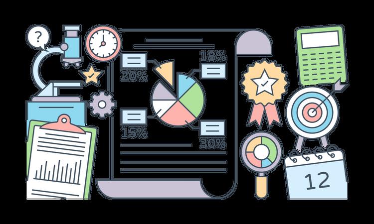 Market Research Illustration