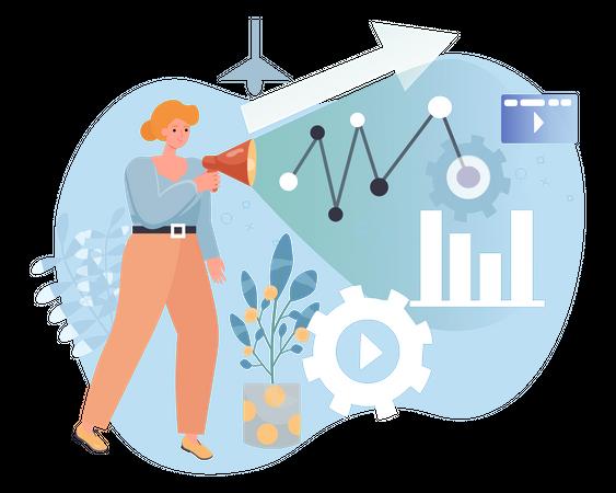 Marketing Analysis Illustration