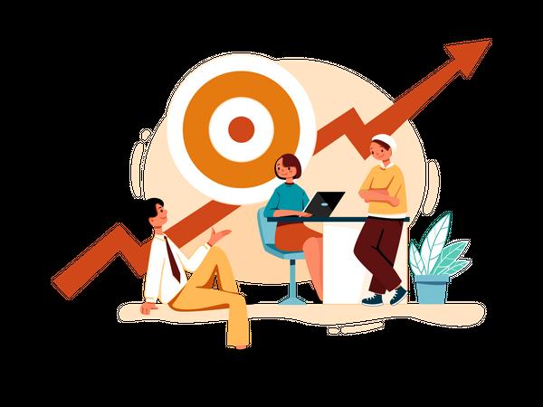 Marketing Goals Illustration