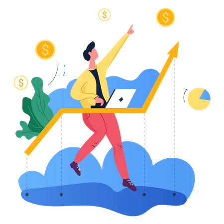 Marketing Growth Illustration