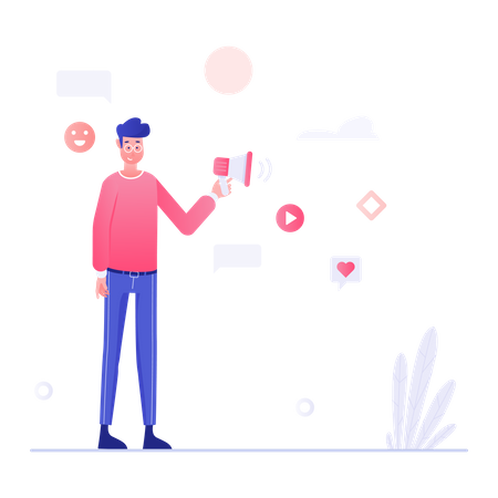 Marketing Manager Illustration