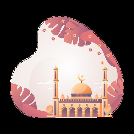 Masjid Illustration