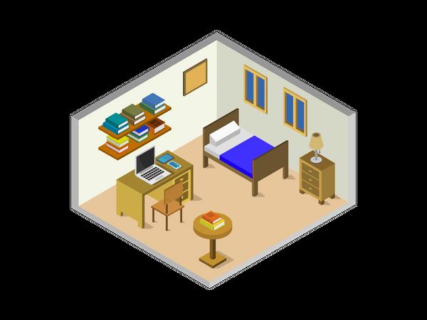 Master bedroom Illustration