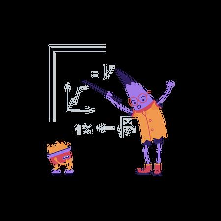 Mathematics Illustration