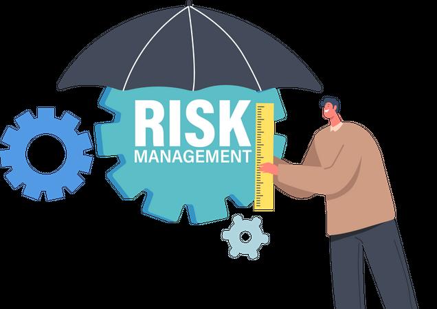 Measure Risk Management Illustration