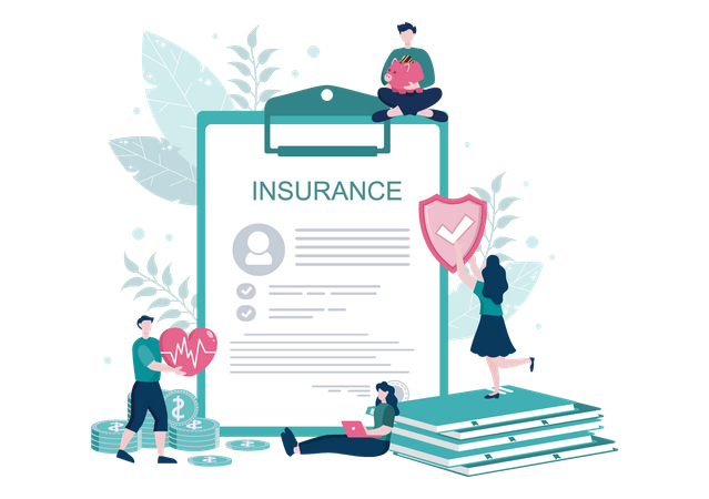 Medical Insurance policy Illustration