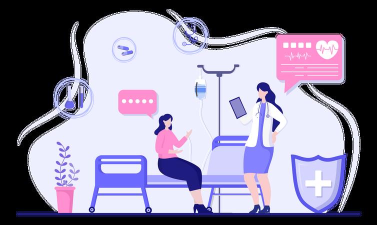 Medical services Illustration