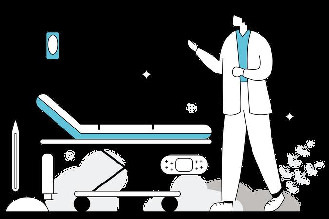 Medical Supplies Illustration
