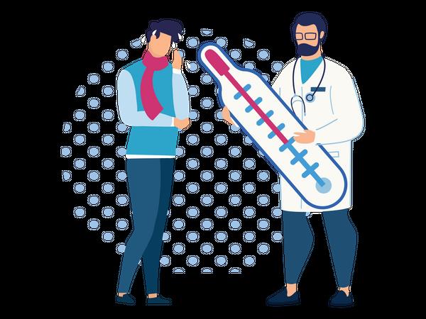 Medical treatment Illustration