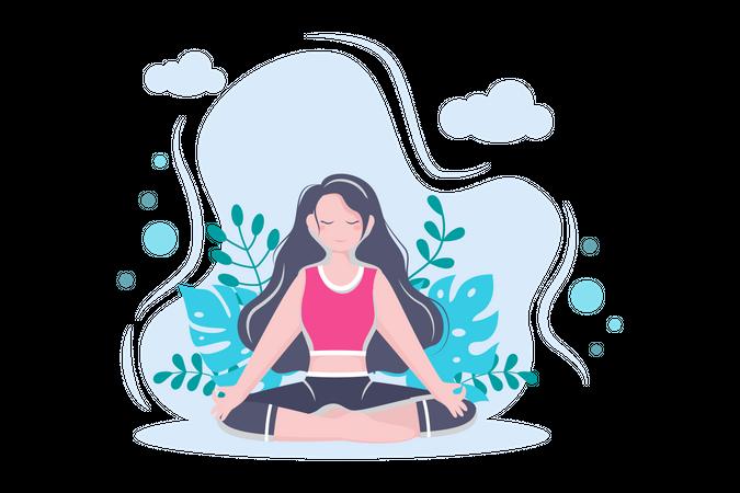 Mental exercise Illustration