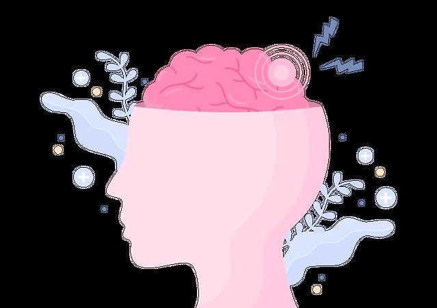 Mental Health Checkup Illustration