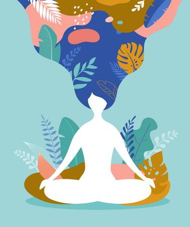 Mental health concept Illustration