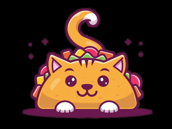 Meow taco Illustration