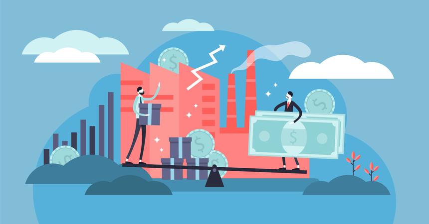 Microeconomics Illustration