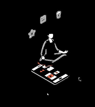 Mindfulness Illustration