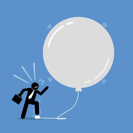 Money Investment Bubble Illustration