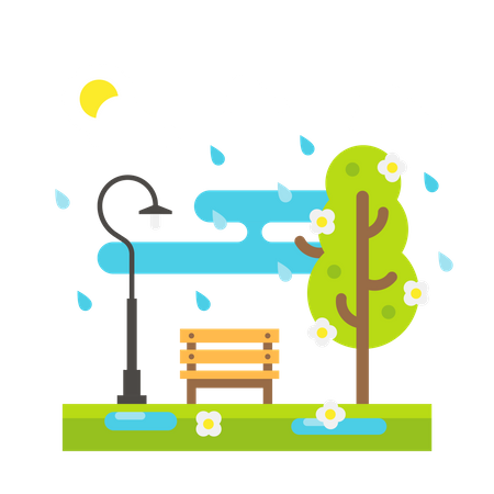 Monsoon Illustration