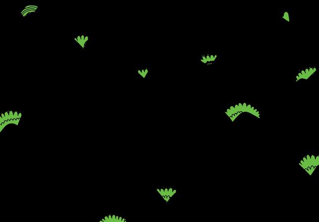 Mountains Pattern Illustration