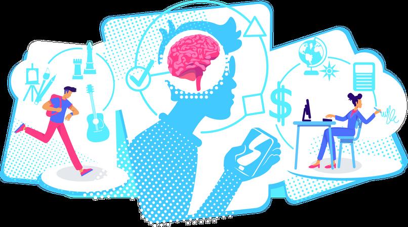 Multitaskers Illustration