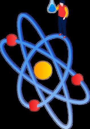 Natural science Illustration