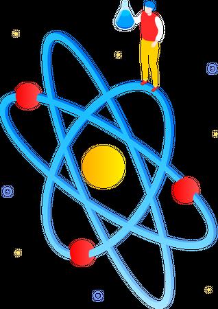 Natural science concept Illustration