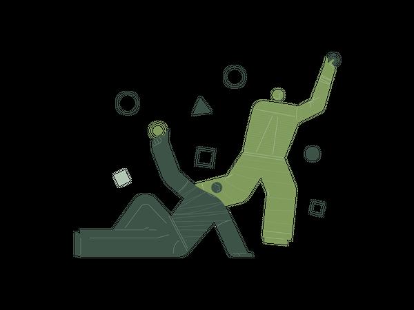 Navigation concept Illustration