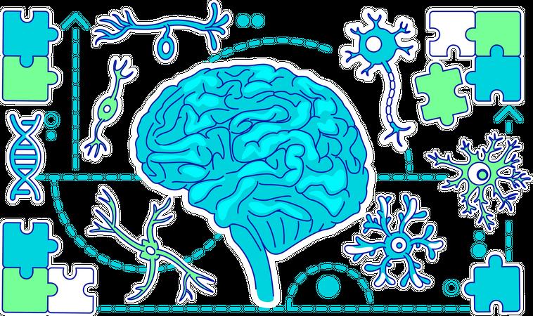Neurology Illustration