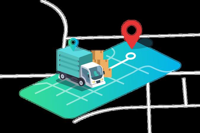 New Business Location Illustration