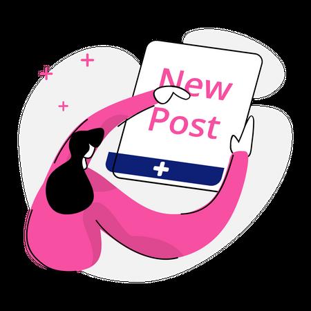 New Post Illustration