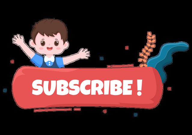 New Subscriber Illustration
