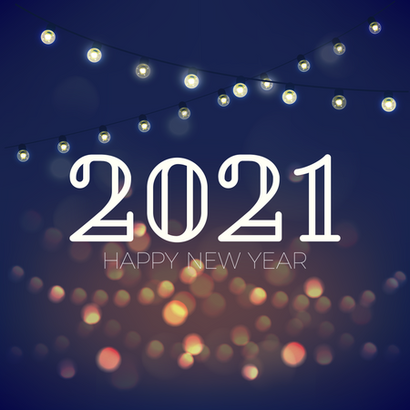 New year 2021 Illustration