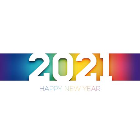 New year 2021 wish Illustration