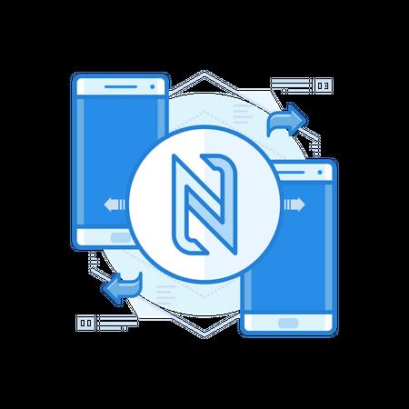 NFC Illustration